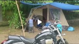 Barraca de camping super espaçosa