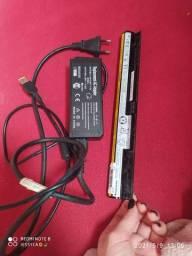 Bateria e carregador de notebook lenovo