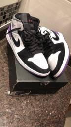 Air Jordan 1 mid purple royal