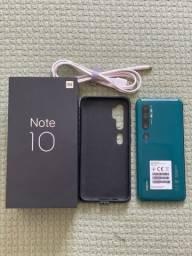 Celular Xiaomi Mi Note 10 6GB 128GB (cor Aurora Green) - Novissimo