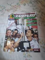 Revista lance do tetra 2012 do Fluminense