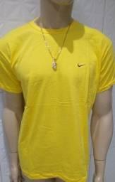 Camisa masculina 100% algodão