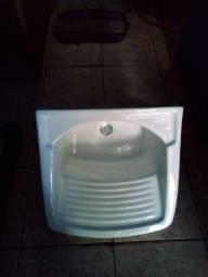 Pia de cozinha em granito lavatório de coluna e tanque