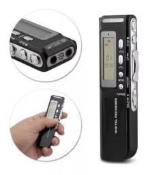 Gravador De Voz Digital Espião  8gb +nf