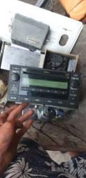Rádio  original toyota Corolla ou Hilux