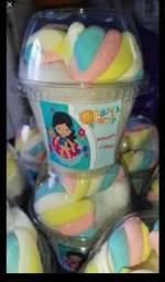 Algodão doce personalizado copo balão 3reais unidade