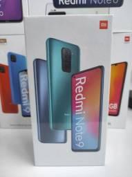 Sucesso 2021! REDMI Note 9  da Xiaomi.. NOVO COM GARANTIA e entrega Ultra Rápida!