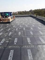 Título do anúncio: Aplico manta asfaltica(com material do cliente)