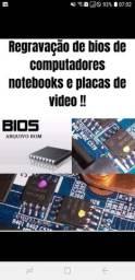 Gravação de bios de computadores e notebook e placas de vide!!