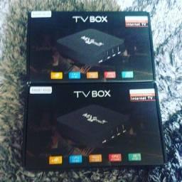 TV Box MXQ Pro 4K 5G - 4GB/64GB Smart TV Hdmi Android 10.1