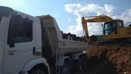 Troco caminhão caçamba 24x280 com 4° eixo por outro caminhão caçamba sem 4° eixo