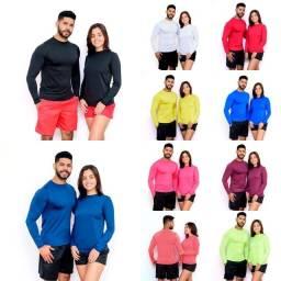 Camisa Térmica Proteção UV50 Unissex Segunda Pele