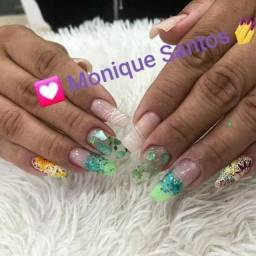 Acrigel, alongamento de unhas, gel na tips