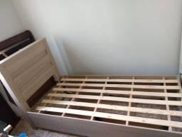 Vendo cama solteiro nova!!!
