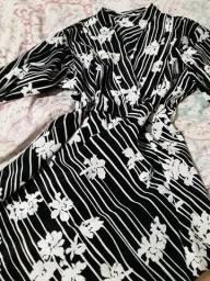 2 blusa social  tamanho  42 e 40