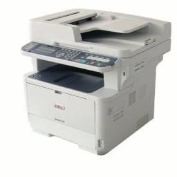 Título do anúncio: Impressora Multifuncional Oki MB491+