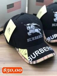 Bonés Burberry - Lançamento