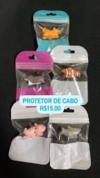 Protetor de cabo USB