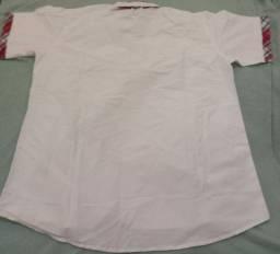 Camisa social masculina tamanho M