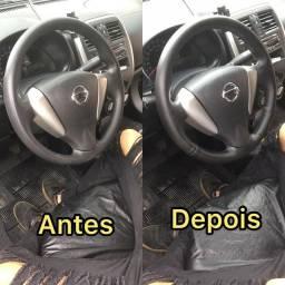 Revestimento de volantes