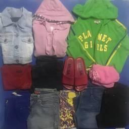 Lote de roupas tamanho P/ 16 anos