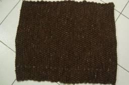 Baixeiro de lã transado