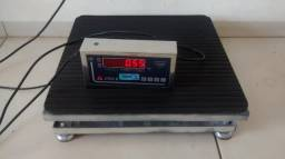 Balança eletrônica 50 Kg, plataforma (40x40 cm)