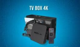 Transforme sua TV comum em Smart TV BOX MXQ 4K ORIGINAL NETFLIX YouTube **e mais