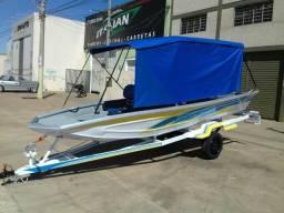 Barcos e lanchas pra pesca e lazer! - 2019