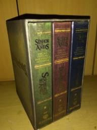 Box de dvds trilogia do senhor dos anéis versão estendida