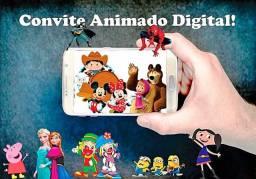 Convite Animado Digital