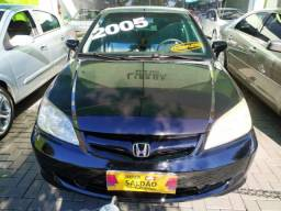 Honda Civic Lxl 1.8 16v Flex Aut. 2005 Gasolina - 2005