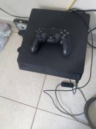 Troco PS4 slim por PS3 mais volta