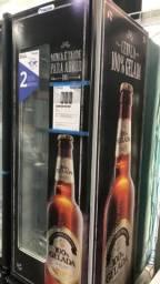 Cervejeira fricon 431 litros com visor de vidro * Géssica
