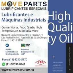 Graxas, óleos e lubrificantes especiais MoveParts