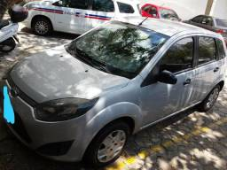 Carro Fiesta Prata Flex Modelo 2011 - 2011