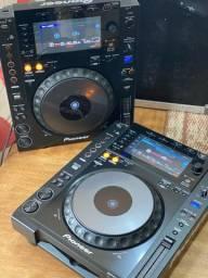 Par de CDJs 900 NEXUS NXS Pioneer DJ