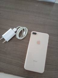 iPhone 8 plus 64 GB Gold passo cartão em até 12x