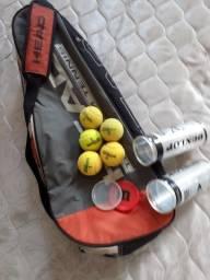 Raqueteira Head com 5 bolas de tênis
