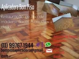 Restauração de Piso de Madeira comprar usado  São Paulo