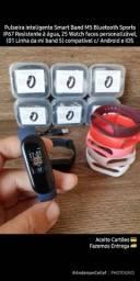 Smart Band M5 Pulseira inteligente sports com 25 Watch faces personalizável