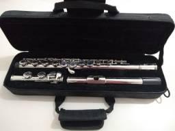 Flauta Transversal Slade Pé Em Dó
