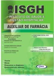 Apostila concurso ISGH/CE auxiliar de farmácia 2020