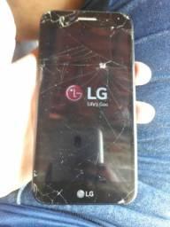 LG k10 32Gb.  Trocar tela