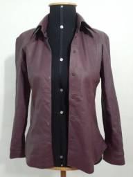 Jaqueta de couro vintage