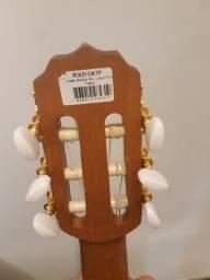 Violão Rozini clássico elétrico de nylon tampo maciço