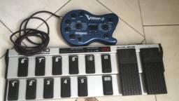 Pedaleira Behringer V Amp 2 + Controller FCB 1010