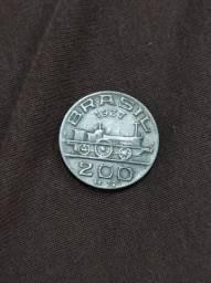 Moeda 200 réis 1937
