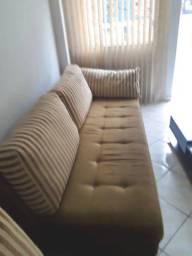 Vendo sofá 4 lugares mais chaise