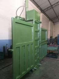 Prensa Enfardadeira Hidráulica Reciclagem Prensa Papelão até 300 Kg